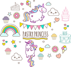 Pastry Princess – Cakes and Cupcakes Cape Town Logo